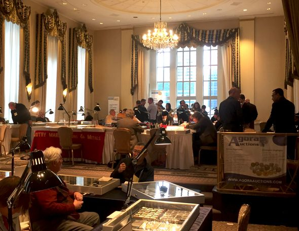 The 45th Numismatic Exhibition in New York
